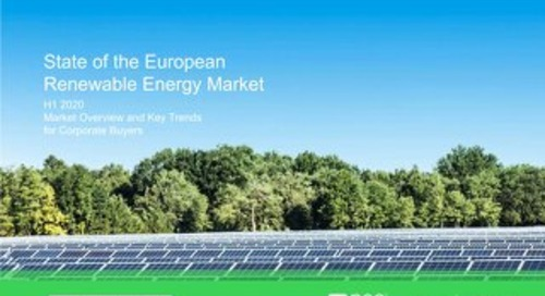 Download Report: State of the European Renewable Energy Market (H1 2020)