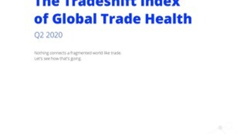 The Tradeshift Index of Global Trade Health Q2 2020