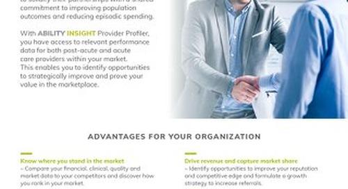 ABILITY INSIGHT Provider Profiler