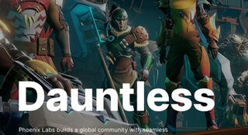 Empowering a crossplay community for Dauntless