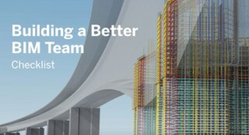 Building a Better BIM Team Checklist