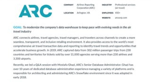 ARC: Meet the Customer Q&A