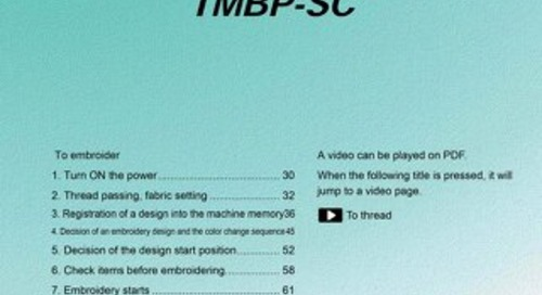 TMBP + TMBR Users Guide