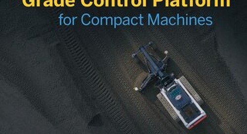 Trimble Earthworks for Compact Machines Datasheet - English
