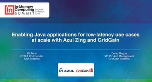Azul and Gridgain Benchmarks Presentation