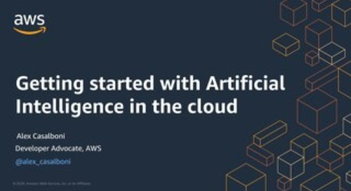Getting started with Artificial Intelligence in the cloud