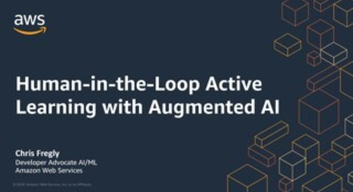 Human-in-the-Loop Active Learning with Augmented AI