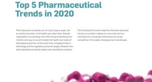 Top 5 Pharmaceutical Trends in 2020