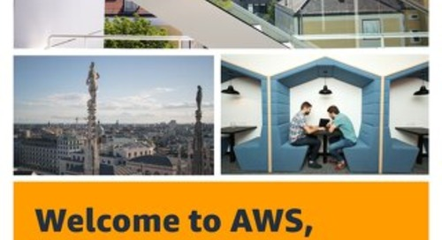 Welcome to AWS, Milan