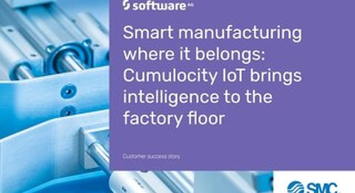SMC: Smart manufacturing with IoT analytics