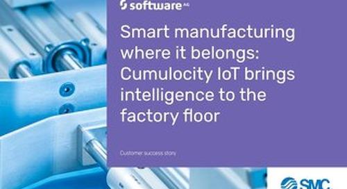SMC: Smart manufacturing with IoT analytics