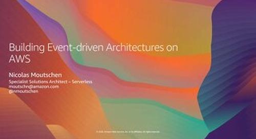 AWS webinar June 23_Event-Driven Architectures_2020June