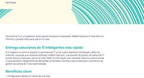 Alfabet FastLane – Gestión de cartera de TI en minutos