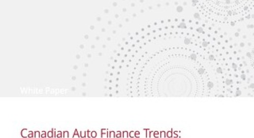 Canadian Auto Finance Trends