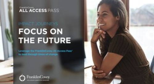 Impact Journeys: Focus on the future