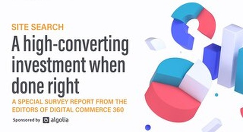 Site search: A high-converting investment when done right
