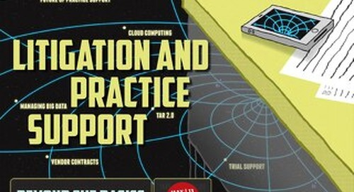 Litigation and Practice Support (May 2013)