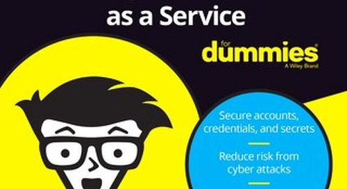 """eBook """"Privileged Access Management as a Service For Dummies""""– CyberArk Special Edition"""