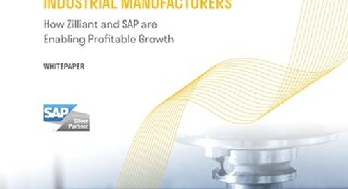 Zilliant & SAP - Real Time Pricing Industrial Manufacturing