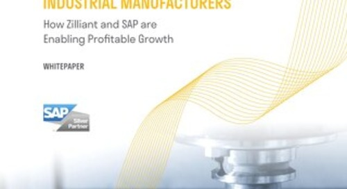 Reimagine Commerce with Zilliant & SAP: Real-Time Market Pricing for Industrial Manufacturers