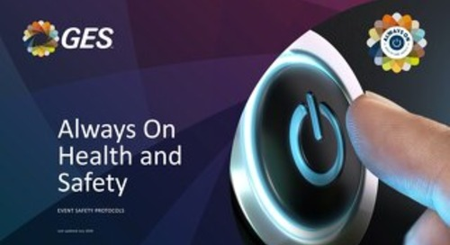 GES EU Exhibitions - Always On Health and Safety
