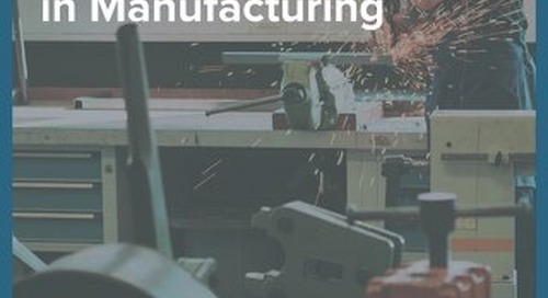 How to Close the Experience Gap in MFG (Appirio) eBook