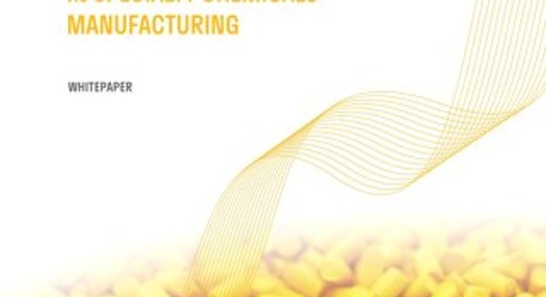 Dynamic Formula Pricing in Specialty Chemicals Manufacturing