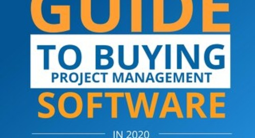 Guide to Buying Project Management Software 2020