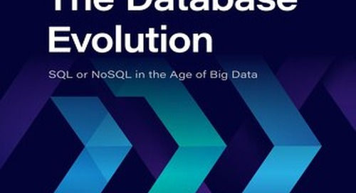 Dzone Trend Report: The Database Evolution: SQL or NoSQL in the Age of Big Data