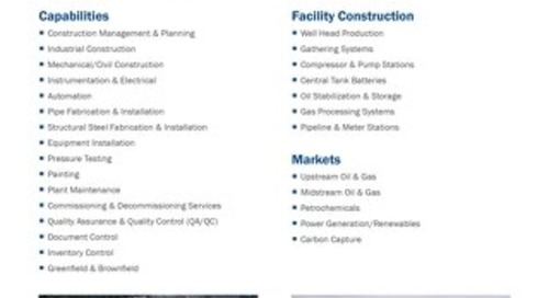 Facility Construction Services