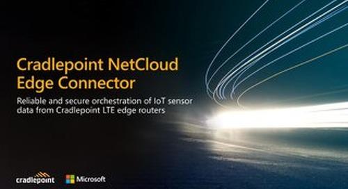 Cradlepoint NetCloud IoT Presentation