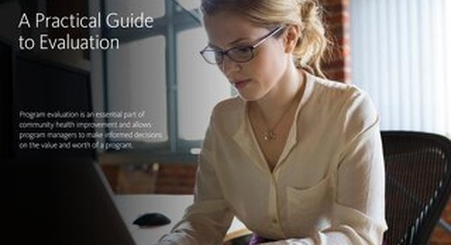 eBook: A Practical Guide to Evaluation