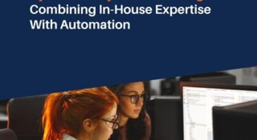 Cybersecurity Talent Shortage: Combining In-House Expertise With Automation