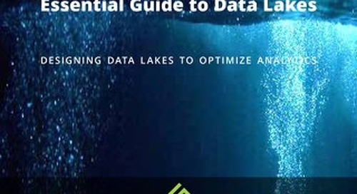 Essential Guide to Data Lakes - Designing Data Lakes to Optimize Analytics