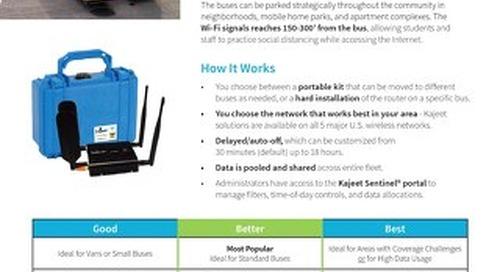 Kajeet SmartBus for Distance Learning
