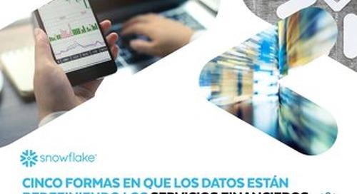 Cinco Formas en que los Datos Están Redefiniendo los Servicios Financieros