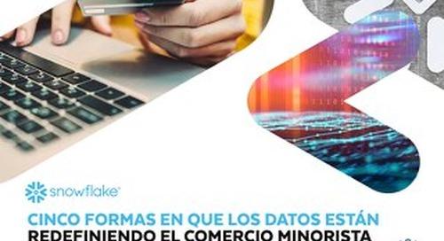 Cinco Formas en que los Datos Están Redefiniendo el Comercio Minorista