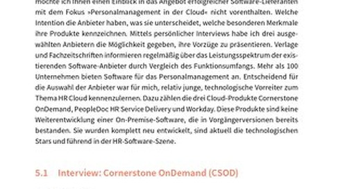 Personalmanagement in der Cloud: Interview mit Cornerstone