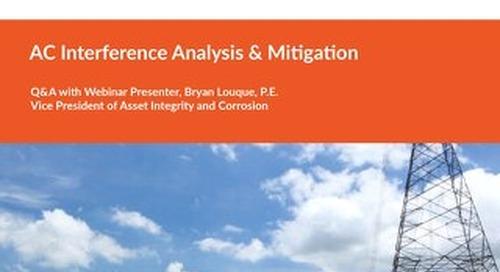 Q&A AC Interference Analysis & Mitigation