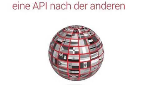 Bessere Verwaltung – eine API nach der anderen
