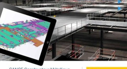 CANCE Constructeur métallique choisit Tekla Model Sharing