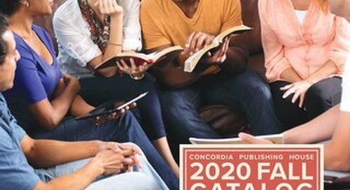 2020 Fall Catalog