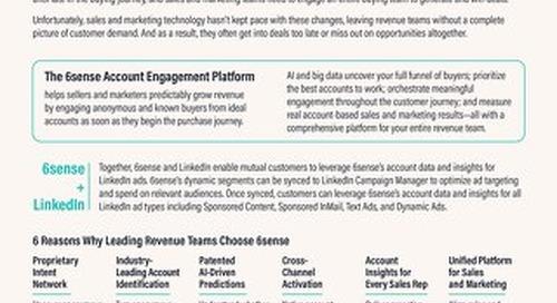 6sense + LinkedIn One Pager