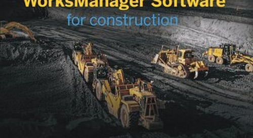 Trimble WorksManager Software for Construction