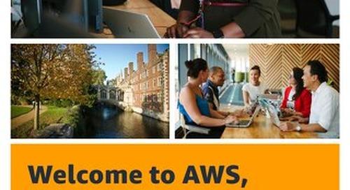 Welcome to AWS, Cambridge