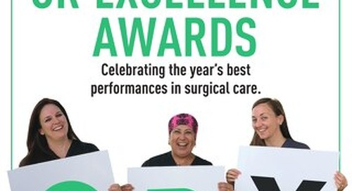 OR Excellence Awards - September 2020 - Subscribe to Outpatient Surgery Magazine