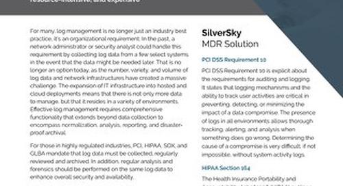SilverSky Log Management
