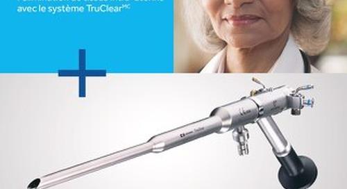 Constatations cliniques sur l'élimination de tissus intra-utérins avec le système TruClear