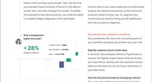 Sisu Data Sheet