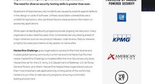 HackerOne Challenge Overview